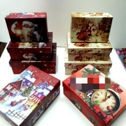 Gift set of boxes