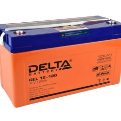 Traction battery DELTA GEL 12-120 120 AH