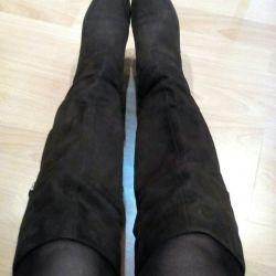 Υψηλές μπότες, χειμώνα