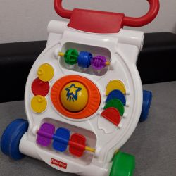 Fisher-Price Walkers-tolokar with a game complex