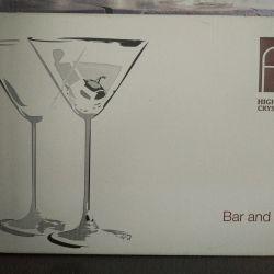 Glasses for Martini set 6pcs