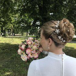 Sıvı Tiara, Düğün Saç Tokası