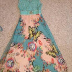 Нарядное Летнее легкое платье