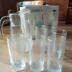 Carafe with glasses