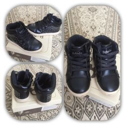 Branded sneakers with rhinestones spring boots winter