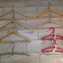 Hangers hangers wooden vintage USSR 60-70's