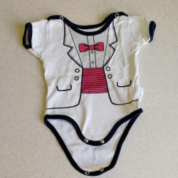 Bodysuit patterned costume