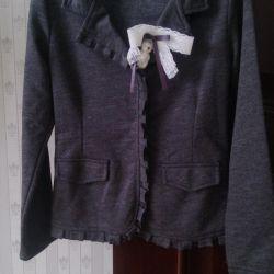 Пиджак трикотажный Knot so bad