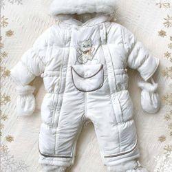 Transformer jumpsuit from birth