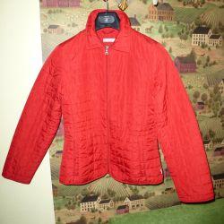 Куртка стеганая красная рост 164.