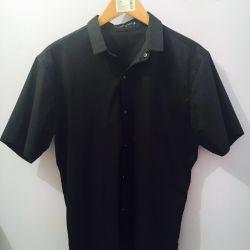 Ανδρικό πουκάμισο - μαύρο