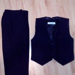 Pants + vest