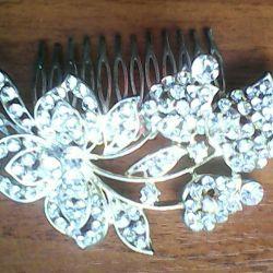 Hairpin για το χτένισμα του γάμου.