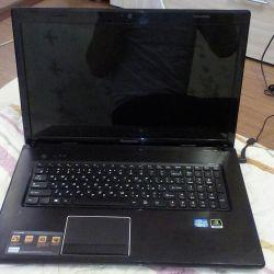 Φορητός υπολογιστής LENOVO G 780
