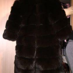 Finnish arctic fur coat