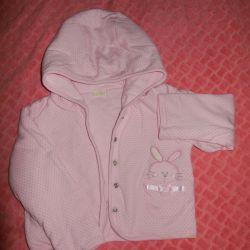 Jacket pentru fata 9-12 luni.