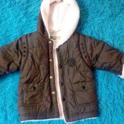 Children's jacket on the boy
