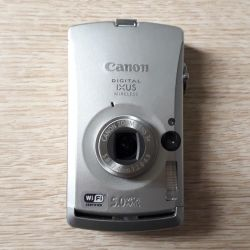 Camera Canon Digital IXUS Wireless