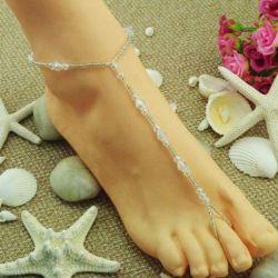 Украшение браслет на ногу, новый