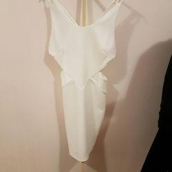 Λευκό φόρεμα 42-44