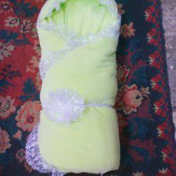 Yeni battaniye örtüsü