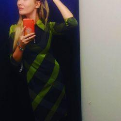 Фирменное платье миди (классика)