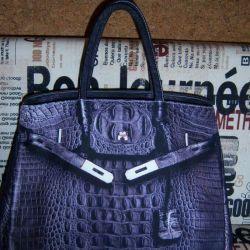 Kadın çantası, tekstil