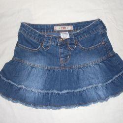 Denim skirt for a girl (YMI)