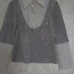 Нарядная блуза. 14 размер