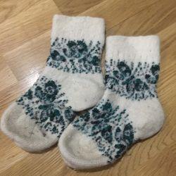 Очень тeплые носочки