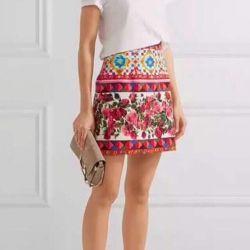 Skirt and top Dolce Gabbana