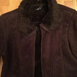 Новая куртка под замш разм М