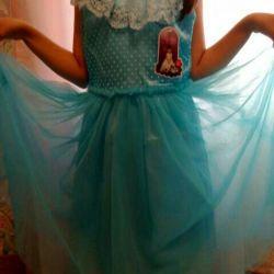 Prenses elbisesi (7-8 yıl)