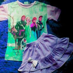 футболка +юбочка
