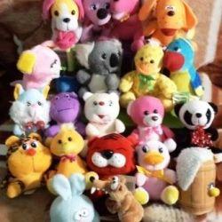 Dogs, bears, hippo, bunny, ducklings ...