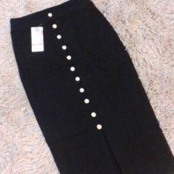 New skirt-utyazhka.