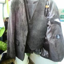 Kadife takım elbise