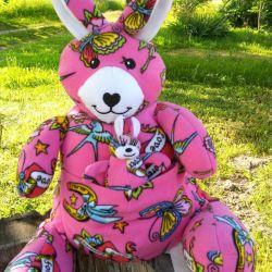 Kangaroo jucărie moale pentru copii