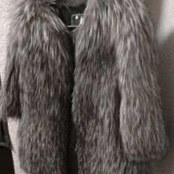 Cool coat of silver fox 42 44 46