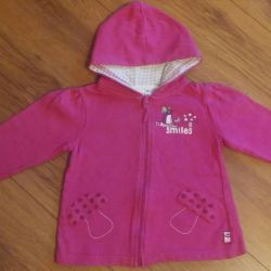 Blouses for girls up to 2 years