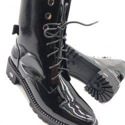 Dior leather boots luxury two colors (36-41)