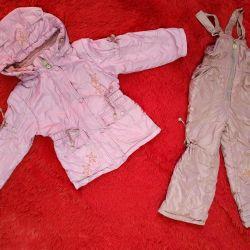 Overalls + KIKO jacket