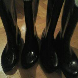 Rubber boots warmed.SSSR.