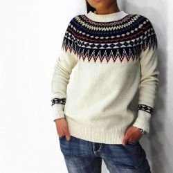 Elongated sweatshirt