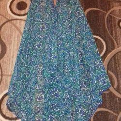 Yeni plaj elbisesi pelerin