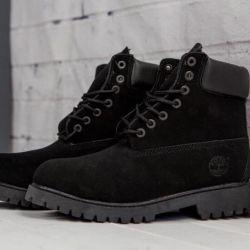 Ботинки Timberland Black winter
