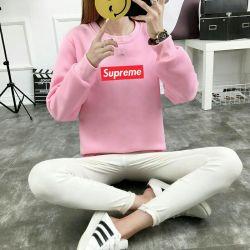 Μπουφάν μπλούζα πουλόβερ ροζ m