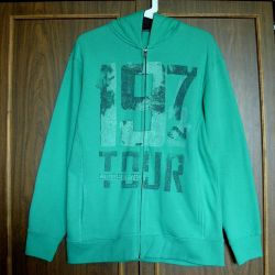 C & A Here + There Germany men's sweatshirt new
