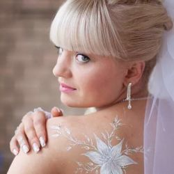Wedding Brilliant Tattoos for Brides