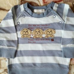Cardigan H & M on the boy 2-4 months. 62 size